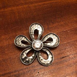 Silpada Retired Flower Pendant/Pin